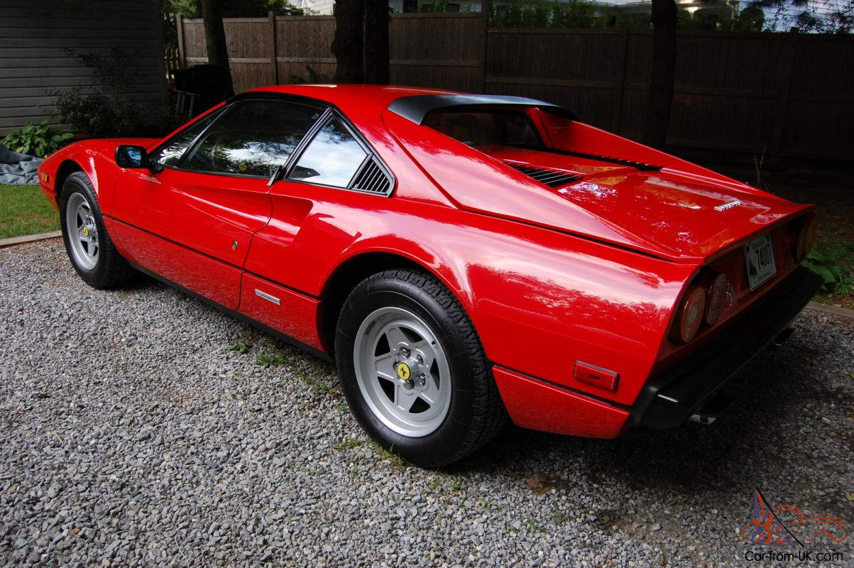ferrari 308 car classics. Black Bedroom Furniture Sets. Home Design Ideas