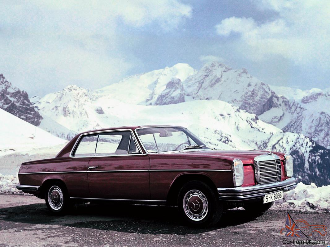 Mercedes benz w114 w115 car classics for Mercedes benz used vehicles