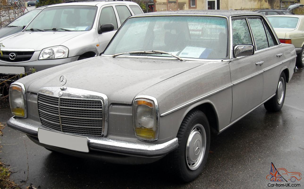 Mercedes benz w114 w115 car classics for Mercedes benz w115 for sale