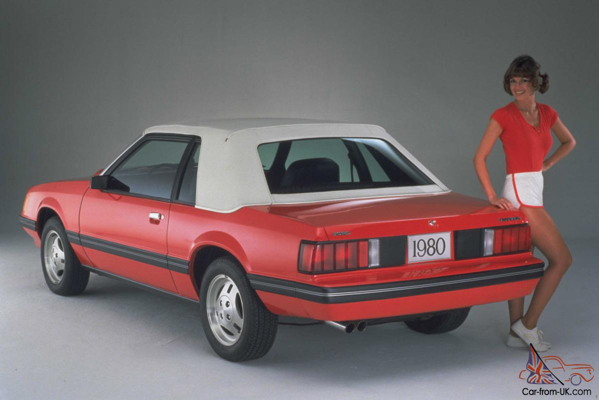 1980s Cars: Ford Mustang 1980s
