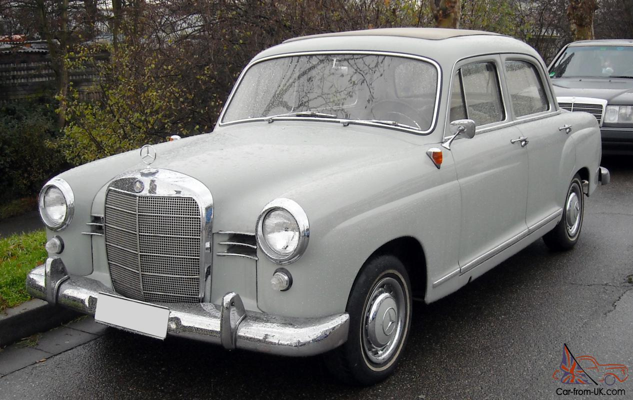 Mercedes benz w120 w121 car classics for Mercedes benz w
