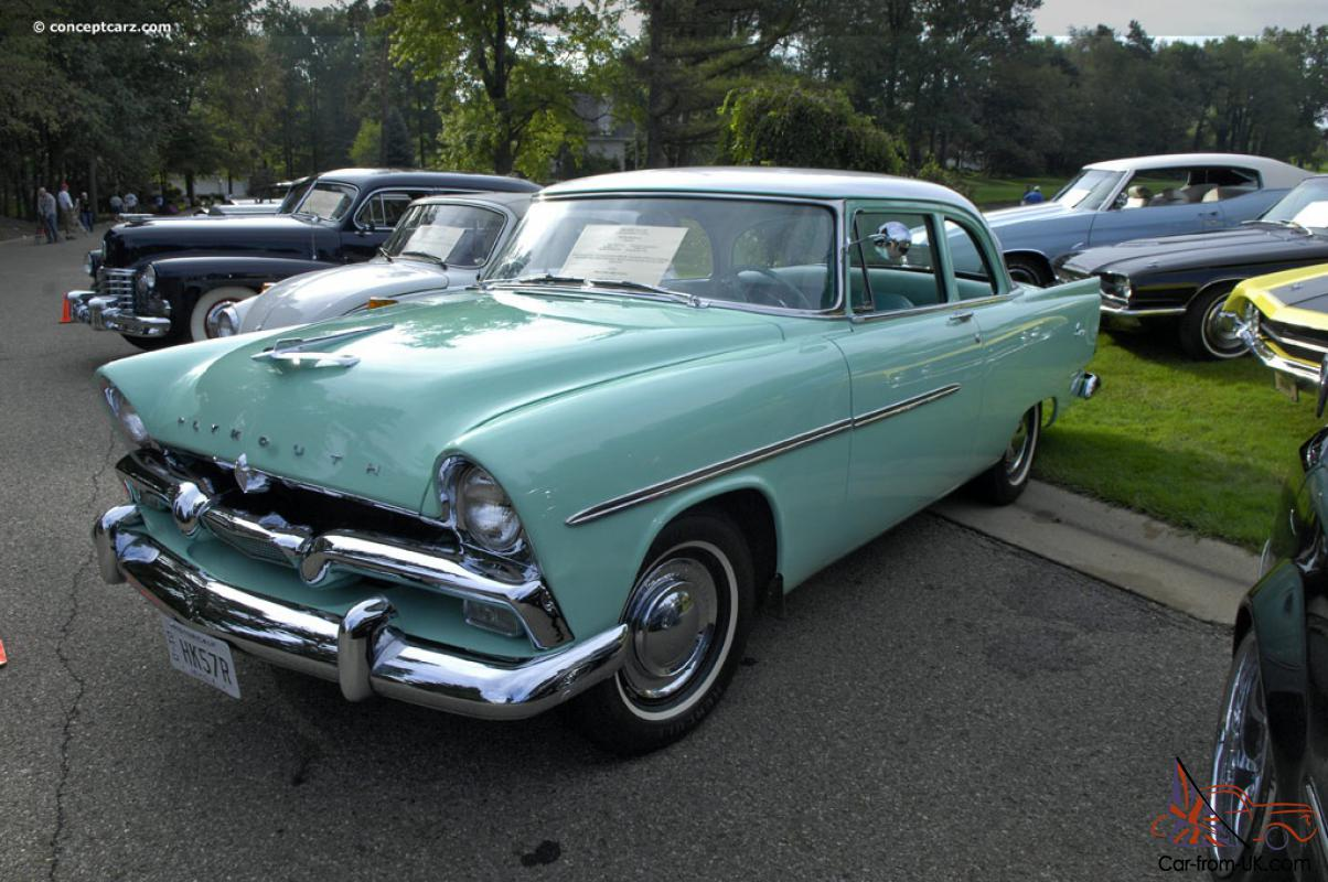 Plymouth savoy car classics for 1956 plymouth savoy 4 door