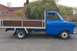 CLASSIC Ford Transit 12 MONTHS MOT.. Drop side Truck L@@K 1975 NO RESERVE