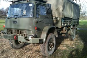 Bedford MJ4x4 Light recovery truck