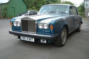 ROLLS ROYCE SILVER SHADOW PEACOCK BLUE Photo