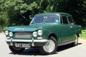 1965 Triumph VITESSE 1600 MK1 Hard Top - Conifer Green
