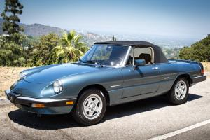 Excellent condition 1986 Alfa Romeo Spider Veloce from California - BEAUTIFUL!