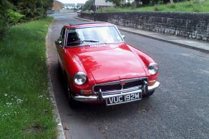 MG BGT 1974 with Overdrive