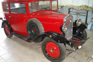 VINTAGE FIAT BALILLA 3 MARCE ANNO 1932 FULLY RESTORED SHIPPING WORLDWIDE