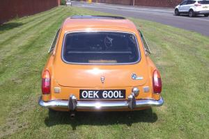 Mgb GT (tax exempt) Chrome bumper