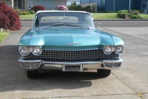 1960 CADILLAC CONVERTIBLE RESTORED BEAUTY , 2 OWNERS FROM NEW .NEEDS NOTHING