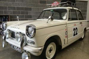 1969 TRIUMPH HERALD 1200 VINTAGE RALLY INSPIRED Photo