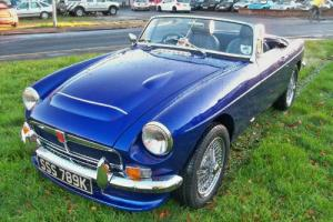 1972 MGB Roadster V8  Photo