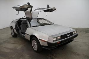 '82 DMC DeLorean: very low miles (1,882 pampered miles) flawless interior & body