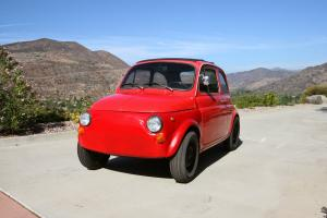 1971 Fiat 500 L Italian Classic Upgraded Motor Great Running Car Parts Included