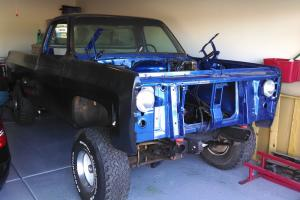 """1974 GMC 4x4 Custom Long Bed with 4"""" Rancho Lift Project Truck"""