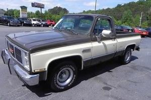 1987 GMC SIERRA A/C FUEL INJECTED POWER STERING NO RUST ANYWHERE GA TRUCK TITLE!