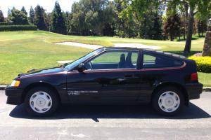 1988 Honda CRX Si, 5speed low miles, all stock, one owner
