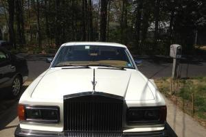 1988 Rolls Royce Silver Spirit (White) Photo