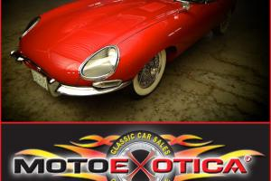 1962 Jaguar XKE Flat Floor-For the Alert Investor-Same Owner Since 74-#'s Match! Photo