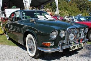 "1966 JAGUAR 420              ""WORLD'S FIRST LEFT HAND DRIVE 420"" Photo"
