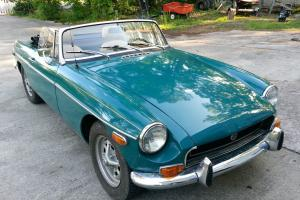 1972 MGB Roadster; British Racing Green, Original; Numbers Matching Vehicle Photo