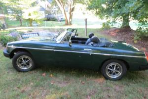 1974 1/2 MGB Convertible with overdrive and rebuilt engine