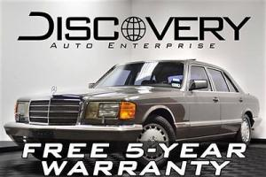 560SEL FREE SHIPPING / 5-YR WARRANTY! LOADED! CARFAX CERTIFIED! MAKE AN OFFER!