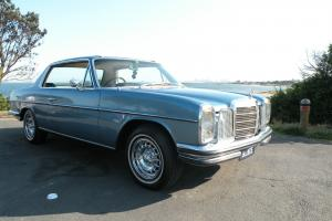 Mercedes Benz W114 280 CE 1973 Pillarless Coupe 4 Speed Auto