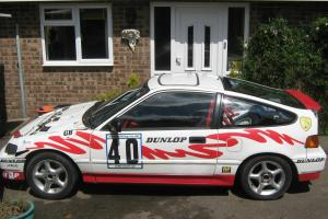 Honda Crx Challenge car. Excellent classic trackday toy or race/rally car. Photo