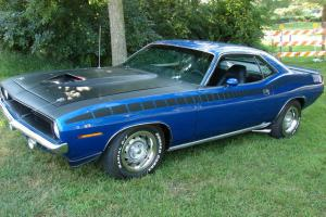 1970 Plymouth AAR CUDA 21 Miles Since Rotissori Restored~Must See CLEAN! (CLONE)