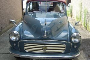 1956 MORRIS MINOR FACTORY FITTED CONVERTIBLE VG CONDITION BUT NOT CONCOURSE