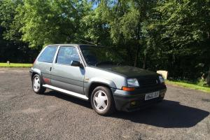 1990 RENAULT 5 GT TURBO GREY,fully restored,4 years works £9000 in parts