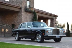 1979 Rolls Royce Silver Shadow II Stunning 2 owner Beverly Hills car from new