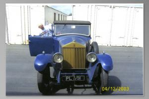 1930 ROLLS ROYCE DROP HEAD COUPE 20/25 Photo