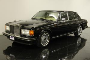 1989 Rolls Royce Silver Spirit Saloon Only 41298 Mile Clean Carfax Chrome Wheel Photo