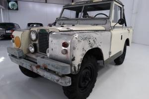 "1966 LAND ROVER SERIES IIA 88"" WHEELBASE, 15,770 BELIEVED TO BE ORIGINAL MILES! Photo"