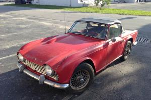 TRIUMPH TR4 1963 ORIGINAL CONDITION Photo