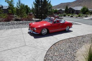 Stunning 1968 Karmann Ghia Convertible Hot VWs Cover Car 1904 Engine Fuchs