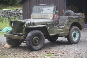 1945 Willys Jeep / Ford GPW / WWII Military Jeep / Army Unrestored