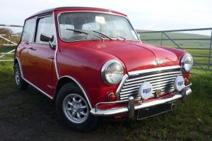 MORRIS MINI COOPER Mk 2 RED 1968