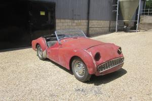 Triumph TR3a LHD Project for restoration