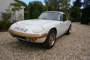 LOTUS ELAN S3 FHC 1967 'E' * COMPLETE RESTORATION PROJECT* Photo