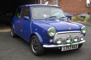 CLASSIC ROVER MINI PAUL SMITH BLUE 1998 Photo