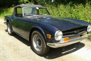 Triumph TR6 150 RHD Photo
