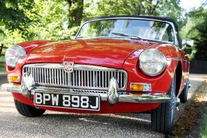 STUNNING RED MGB Photo