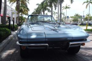 1964 CORVETTE CONVERTIBLE. MATCHING NUMBERS. EXCELLENT RUNNING. SUPERB CAR!!!