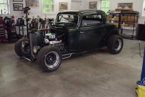 1932 Ford 3 Window Coupe Original Steel Hot Rod