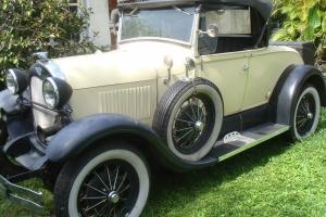 FORD MODEL A 1929 ROADSTER REPLICA BY SHAY MADE IN 1980