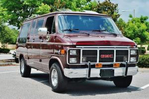 Just 20,377 miles on this 1988 GMC Vandura Conversion Van loaded pristine sweet